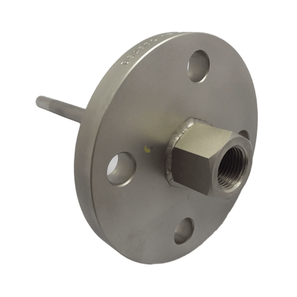 Fabricated Thermowell with Stainless Steel Flange