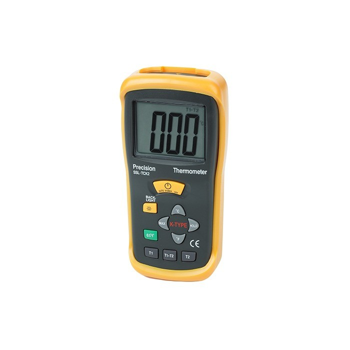 Dual Input Hand Held Digital Thermometer
