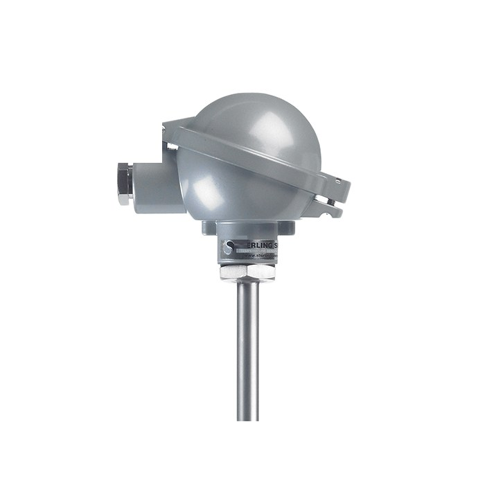Heavy Duty Thermocouple with Industrial (BUZ) Head 1
