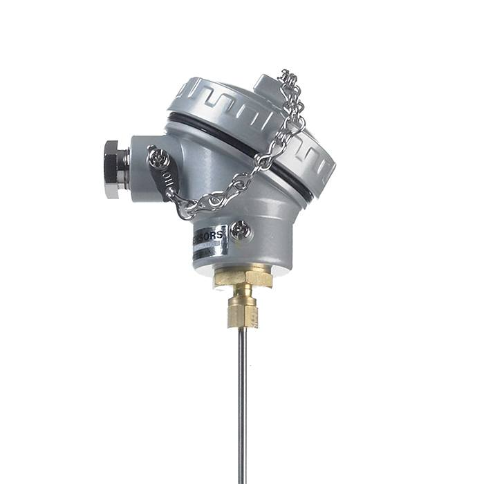 Mineral Insulated Thermocouple with Miniature Weatherproof Terminal Head 1