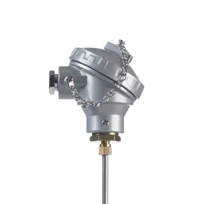 Mineral Insulated Thermocouple with Weatherproof Standard Terminal Head 1